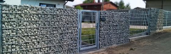 Oferta ogrodzenia - gabiony