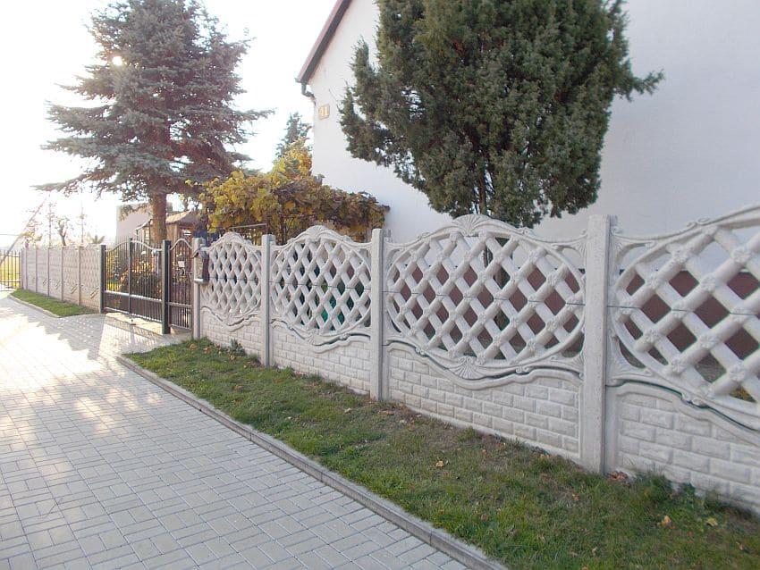 Realizacje ogrodzenia betonowe