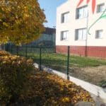 Metalowe ogrodzenie przedszkola