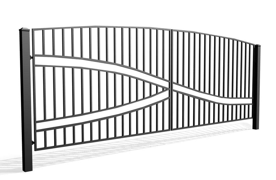 Fala 65A - brama dwuskrzydłowa