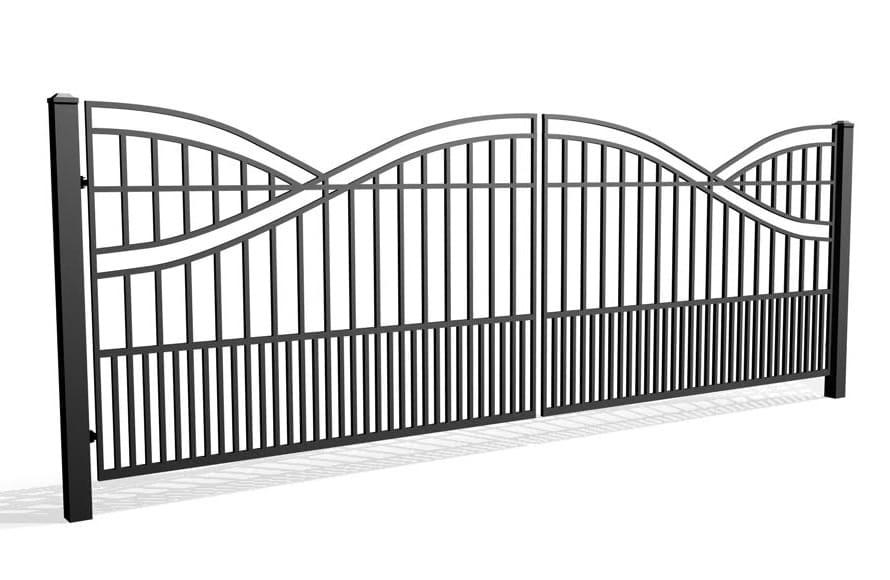Fala 65B - brama dwuskrzydłowa