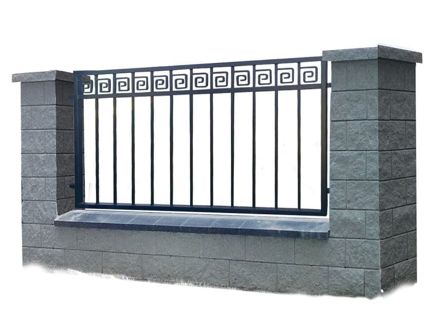 Ogrodzenie murowane - wzór 60C