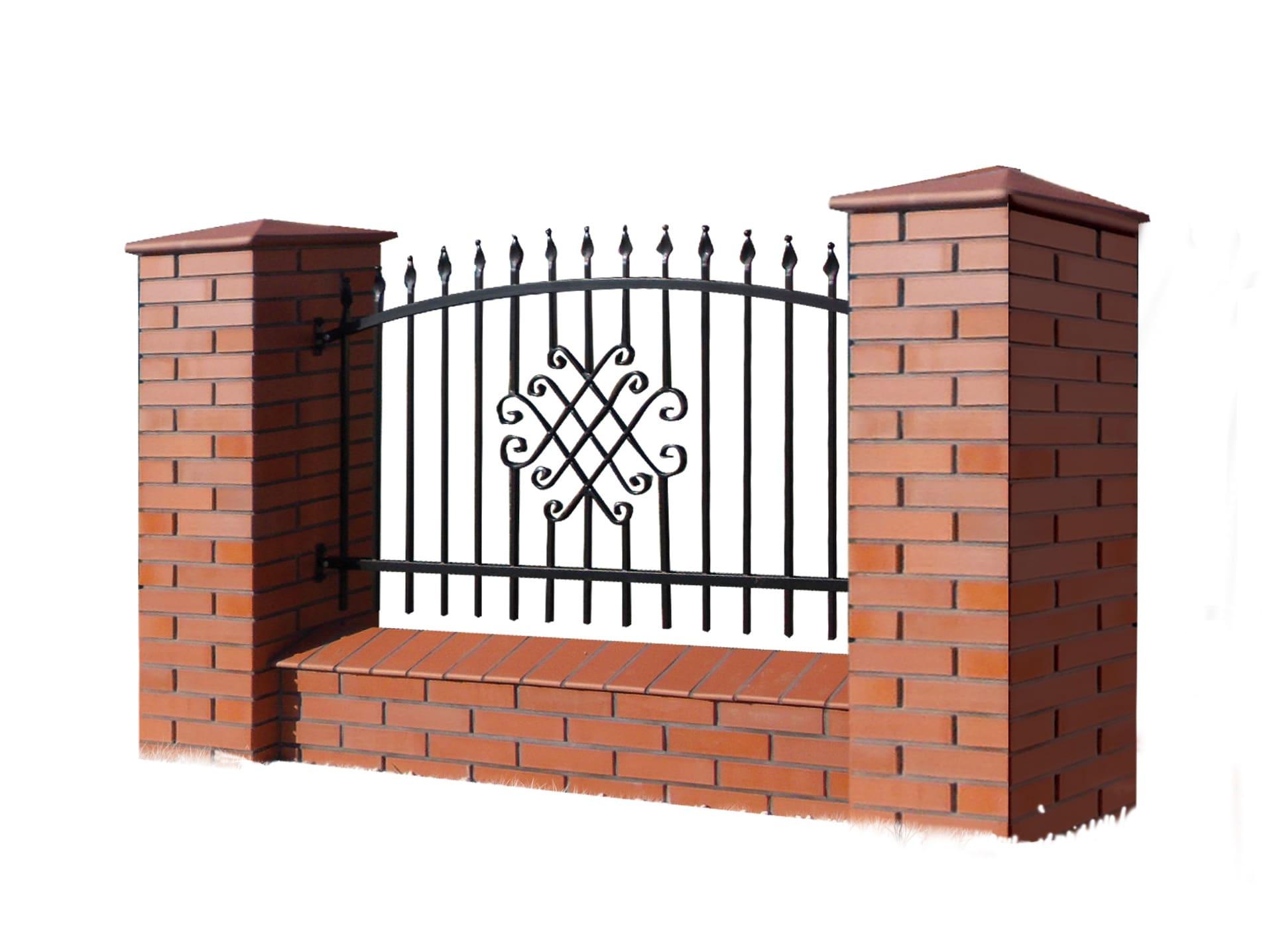 Ogrodzenie murowane - wzór 60A