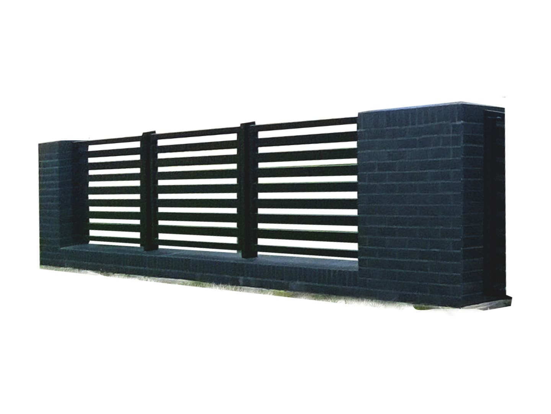 Ogrodzenie murowane - wzór 60B