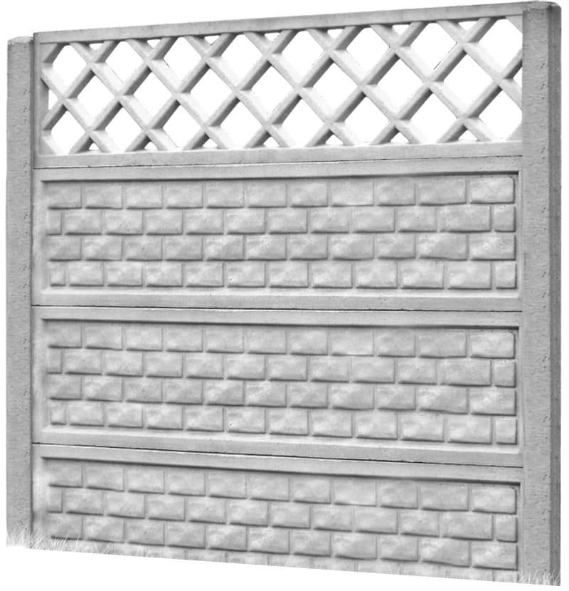 Ogrodzenie betonowe - wzór 04
