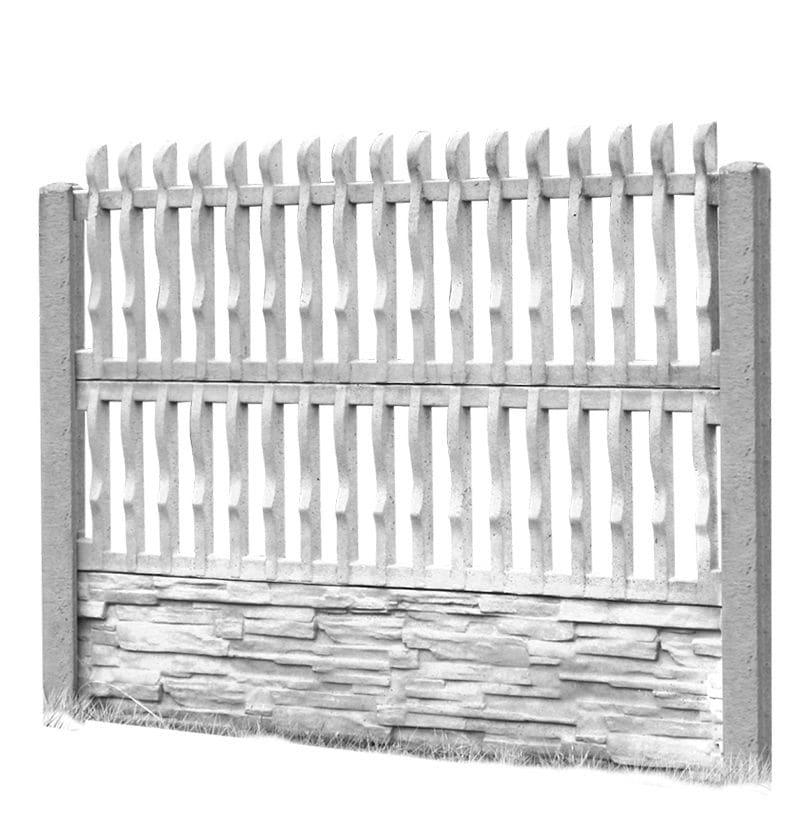 Ogrodzenie betonowe - wzór 05