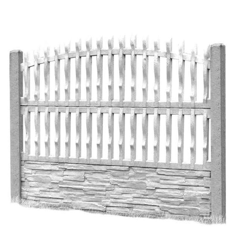 Ogrodzenie betonowe - wzór 06