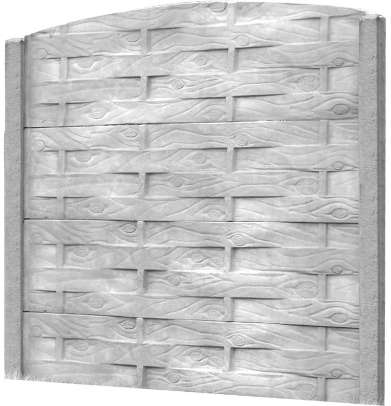 Ogrodzenie betonowe - wzór 07