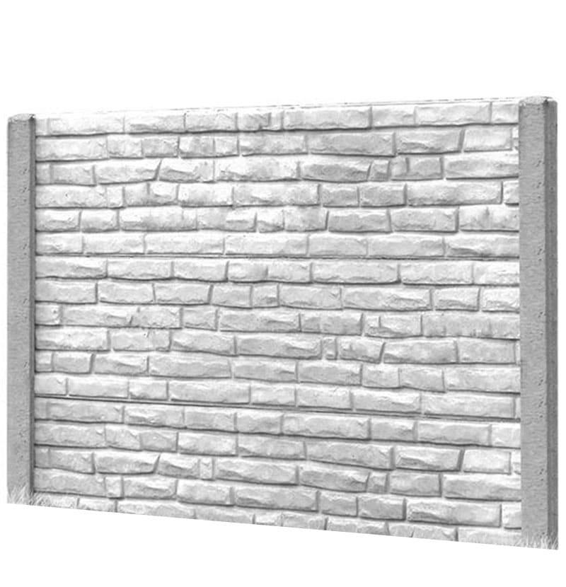 Ogrodzenie betonowe - wzór 20
