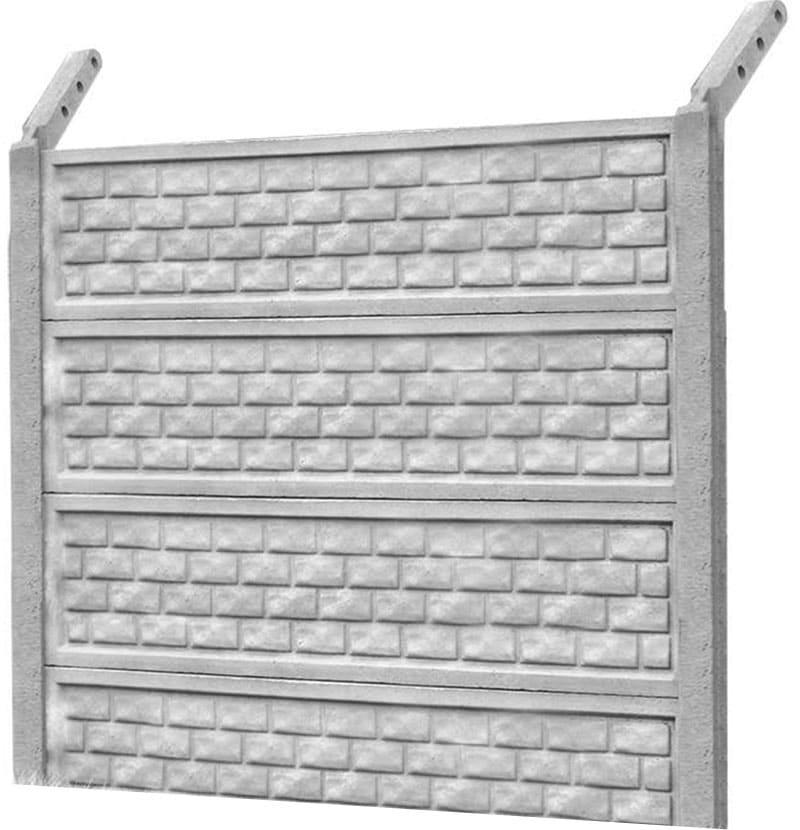 Ogrodzenie betonowe - wzór 23