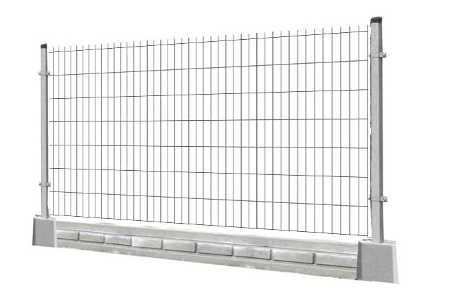 Ogrodzenie panelowe proste